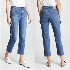 Levi's Wedgie Straight Fit High Rise Jeans